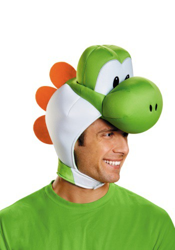 Click Here to buy Adult Yoshi Headpiece from HalloweenCostumes, USA Funds & Shipping