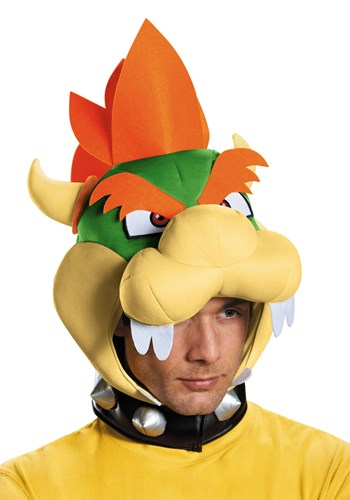 Adult Bowser Headpiece By: Disguise for the 2015 Costume season.