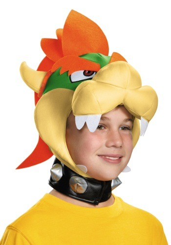 Child Bowser Headpiece By: Disguise for the 2015 Costume season.