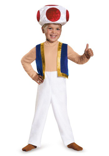 Click Here to buy Toad Toddler Costume from HalloweenCostumes, CDN Funds