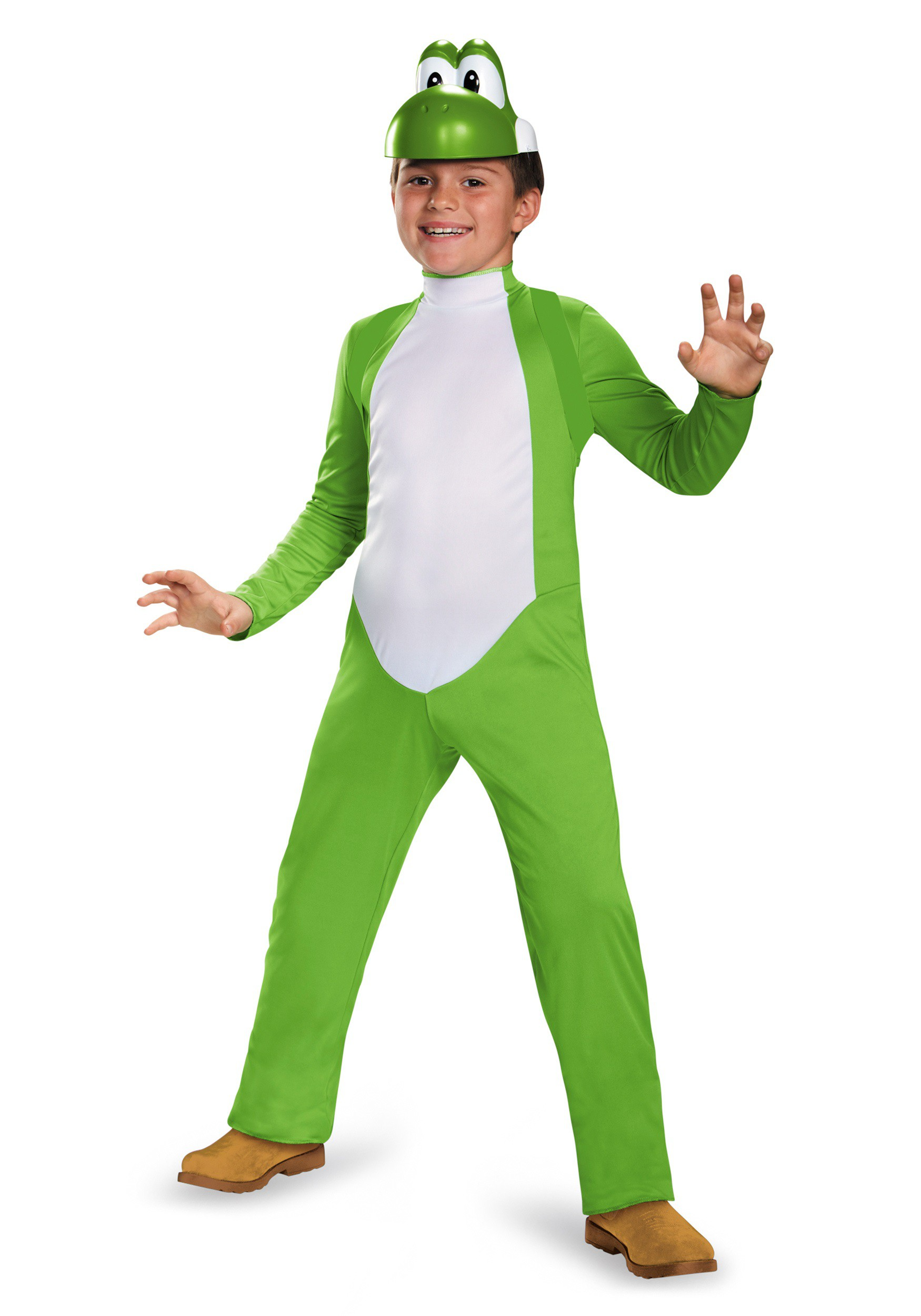Yoshi Costume For Kids Boys Yoshi Deluxe Cost...