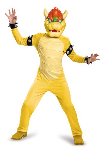 Bowser Deluxe Boys Costume By: Disguise for the 2015 Costume season.