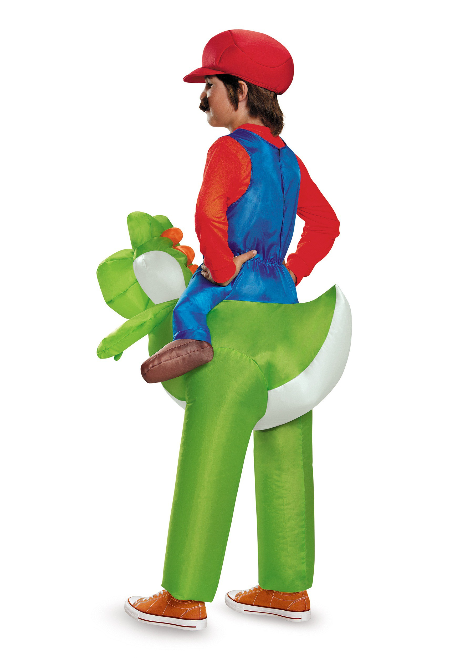 Mario Riding Yoshi Child Costume Mario Riding Yoshi Child Costume Alt1  sc 1 st  Halloween Costumes : kids super mario costume  - Germanpascual.Com