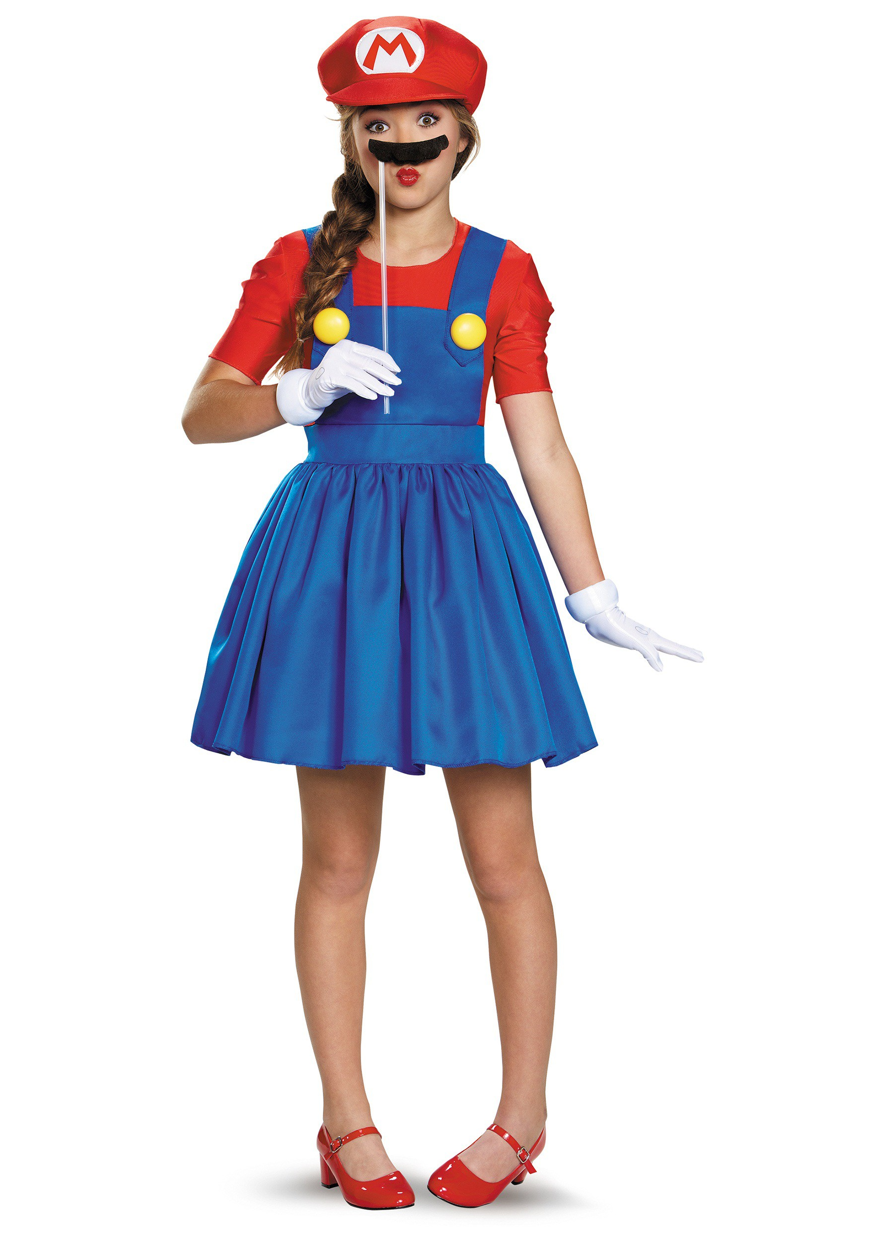 Tweens Mario Skirt Costume Tweens Mario Skirt Costume alt1  sc 1 st  Halloween Costumes & Tweens Mario Skirt Costume