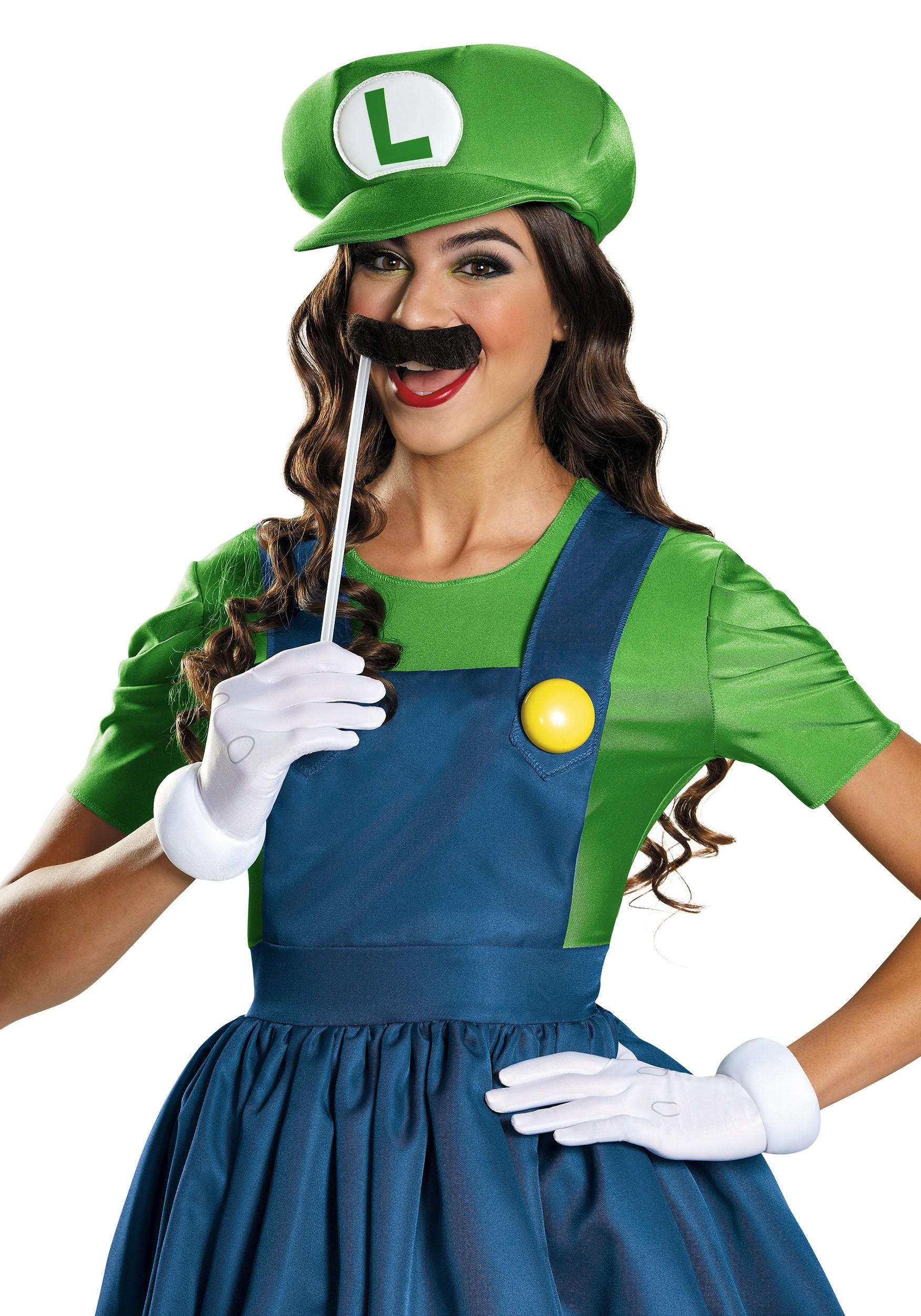 women s luigi dress costume