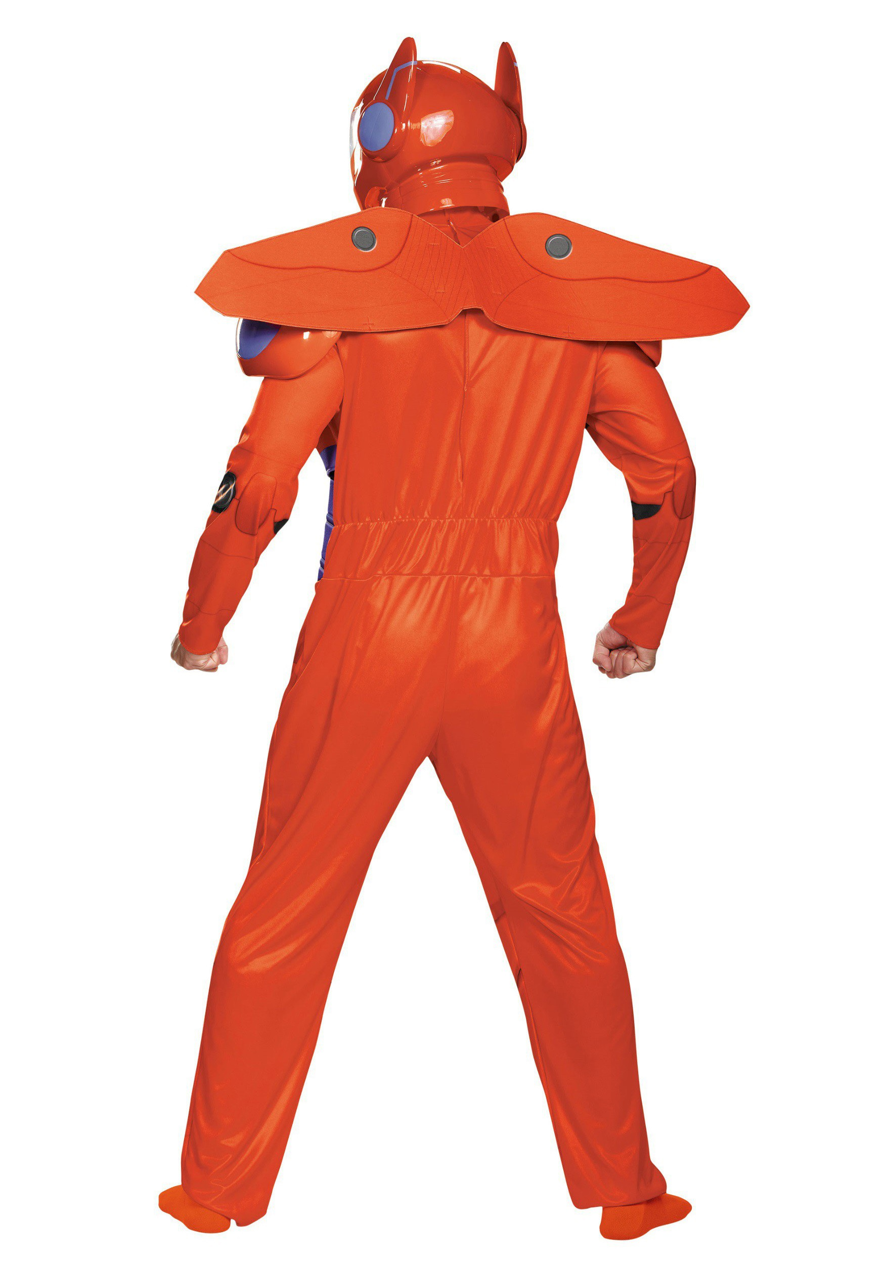 c52791997 ... Adult Plus Size Red Baymax Deluxe Costume