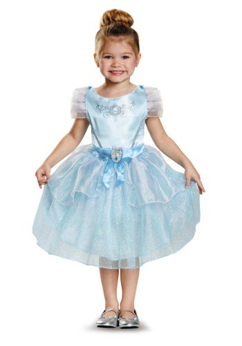 Click Here to buy Cinderella Classic Toddler Costume from HalloweenCostumes, USA Funds & Shipping