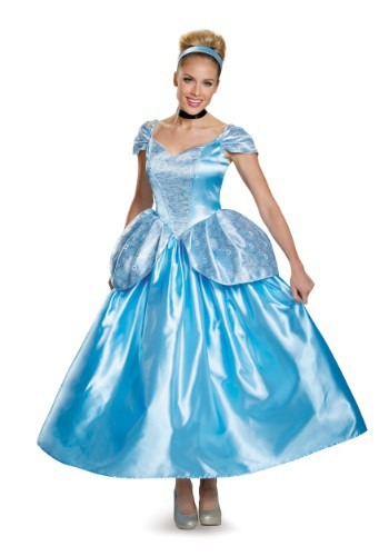 Click Here to buy Womens Prestige Cinderella Costume from HalloweenCostumes