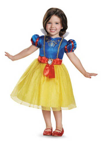 Click Here to buy Snow White Classic Toddler Costume from HalloweenCostumes, CDN Funds
