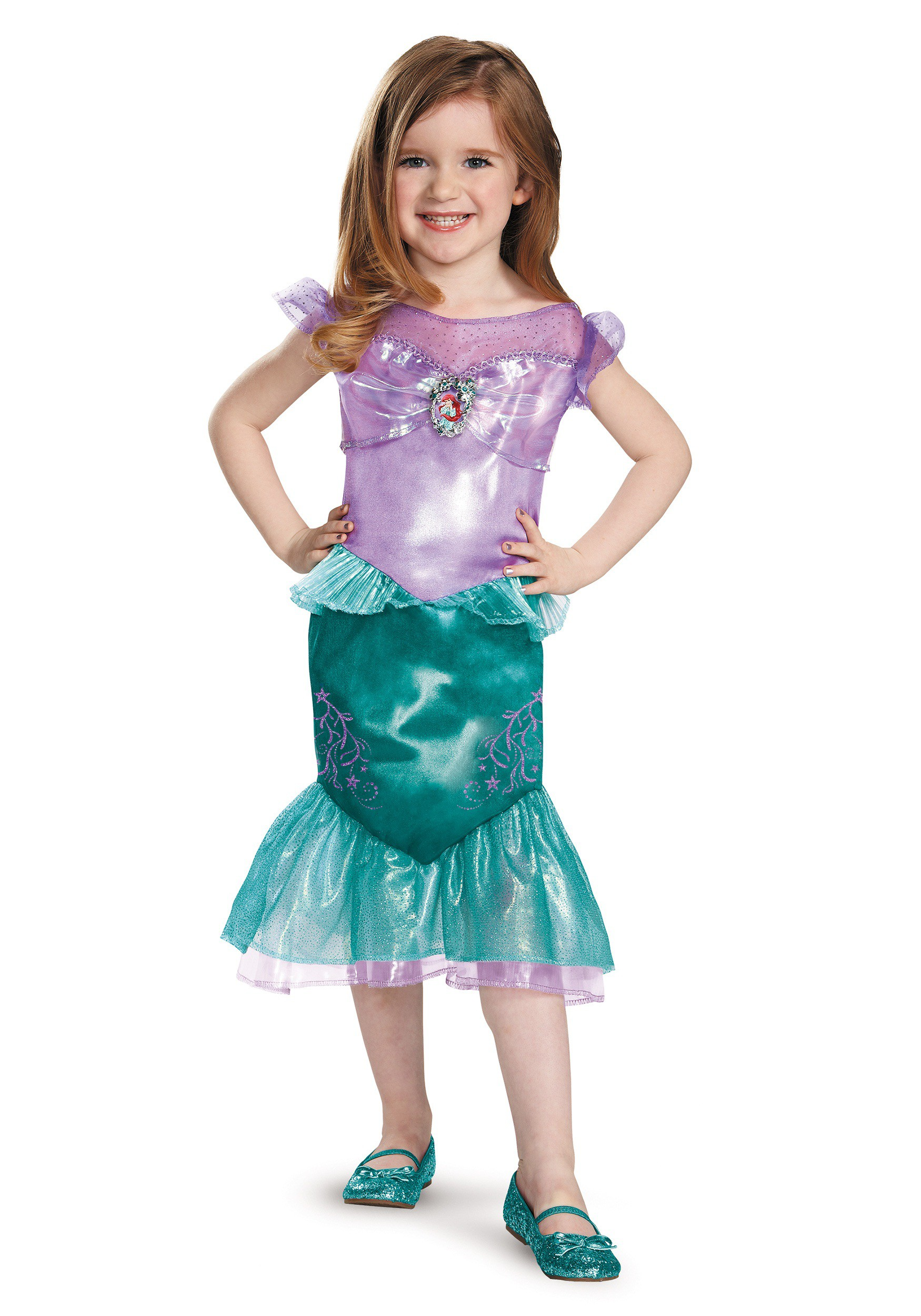 Toddler Ariel Classic Costume  sc 1 st  Halloween Costumes & Little Mermaid Costumes - Ariel Little Mermaid Costume