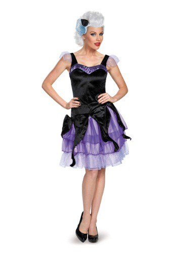 Click Here to buy Womens Deluxe Ursula Costume from HalloweenCostumes, USA Funds & Shipping
