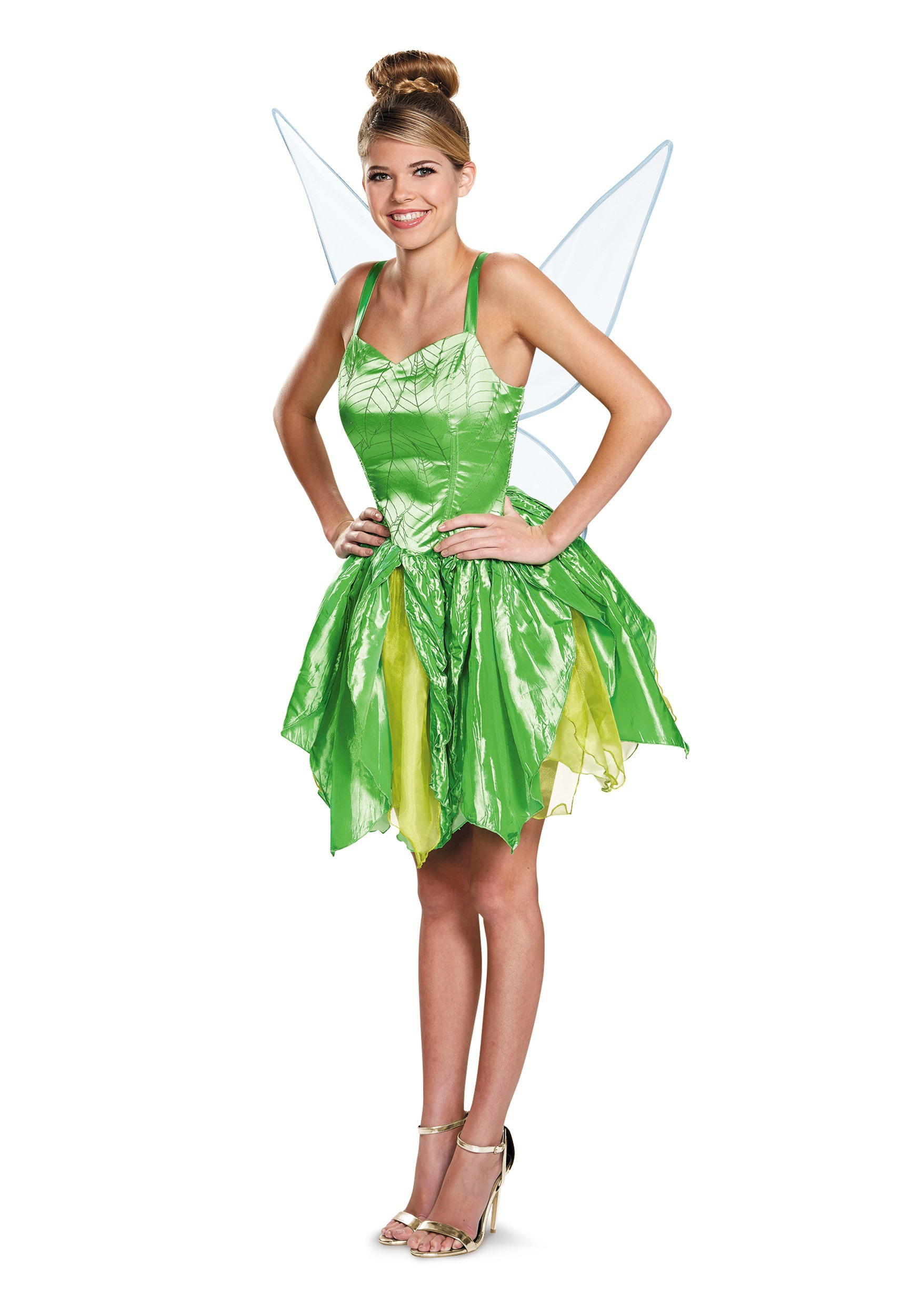 Womens Prestige Tinker Bell Costume  sc 1 st  Halloween Costumes : adult tinkerbell costume uk  - Germanpascual.Com