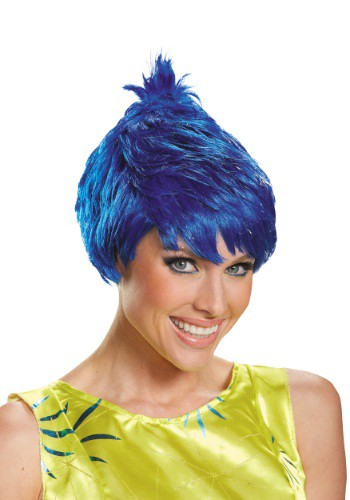 Inside Out Adult Joy Wig By: Disguise for the 2015 Costume season.