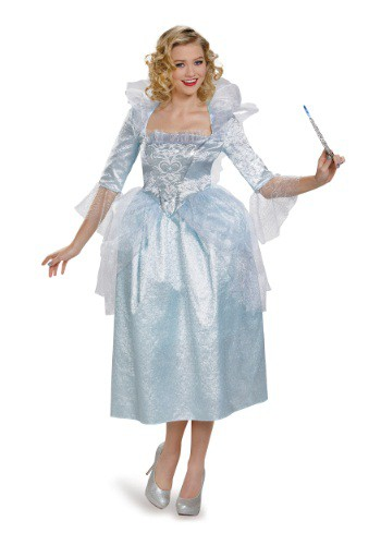 Womens Cinderella Fairy Godmother Costume