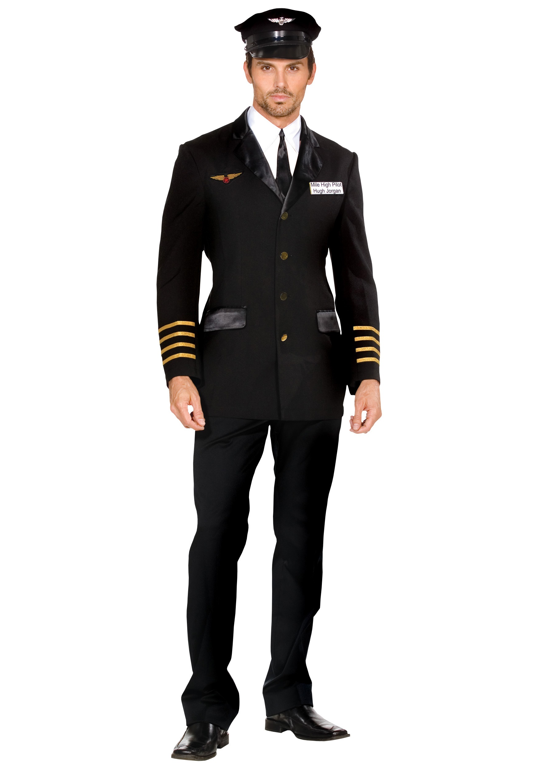 Halloween Decorations You Can Make At Home Men S Mile High Pilot Costume