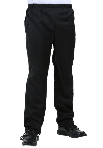 Mens Black Costume Pants