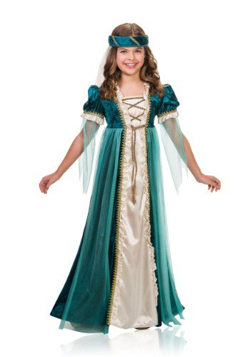 Click Here to buy Kidss Lady Juliet Costume from HalloweenCostumes, CDN Funds
