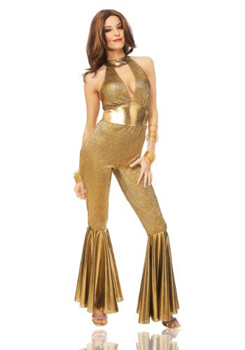 Womens Disco Diva Costume-2025