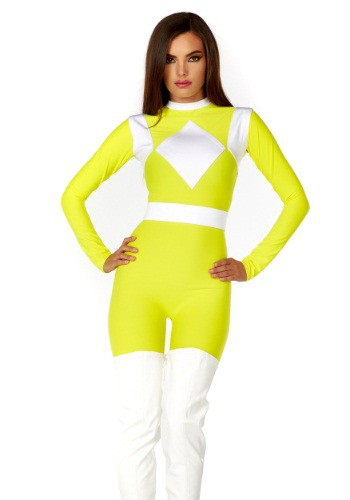 Women's Dominance Action Figure Yellow Catsuit FP555202