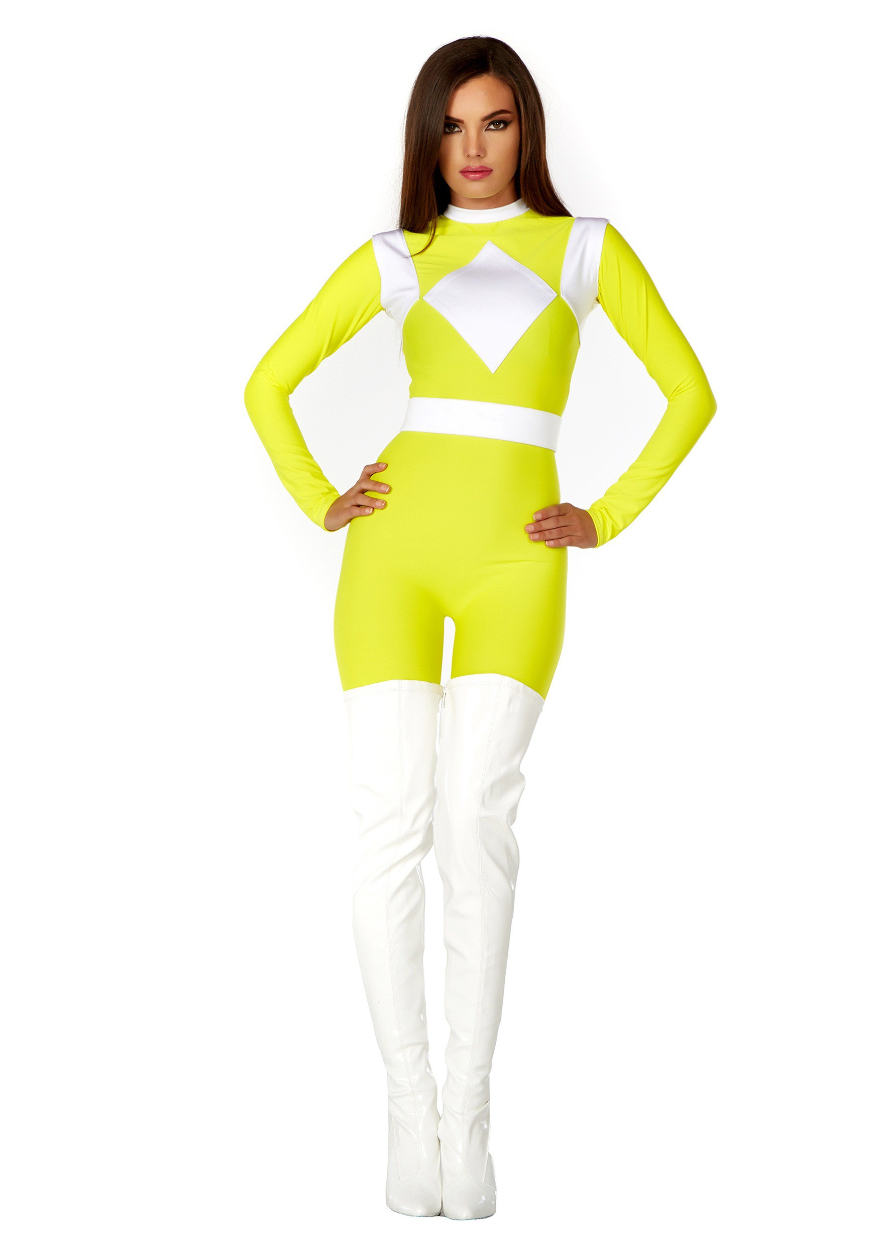 Power Rangers Yellow Ranger Costume Yellow Ranger Costume For