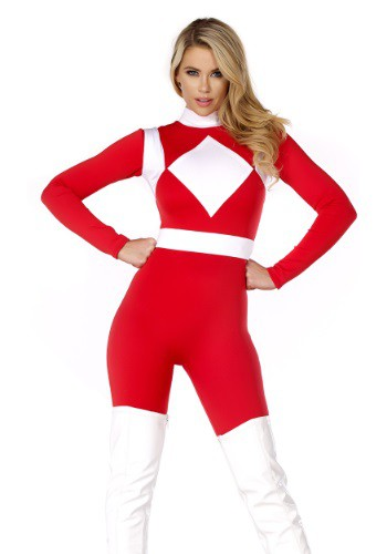 Women's Dominance Action Figure Red Catsuit FP555244-S/M