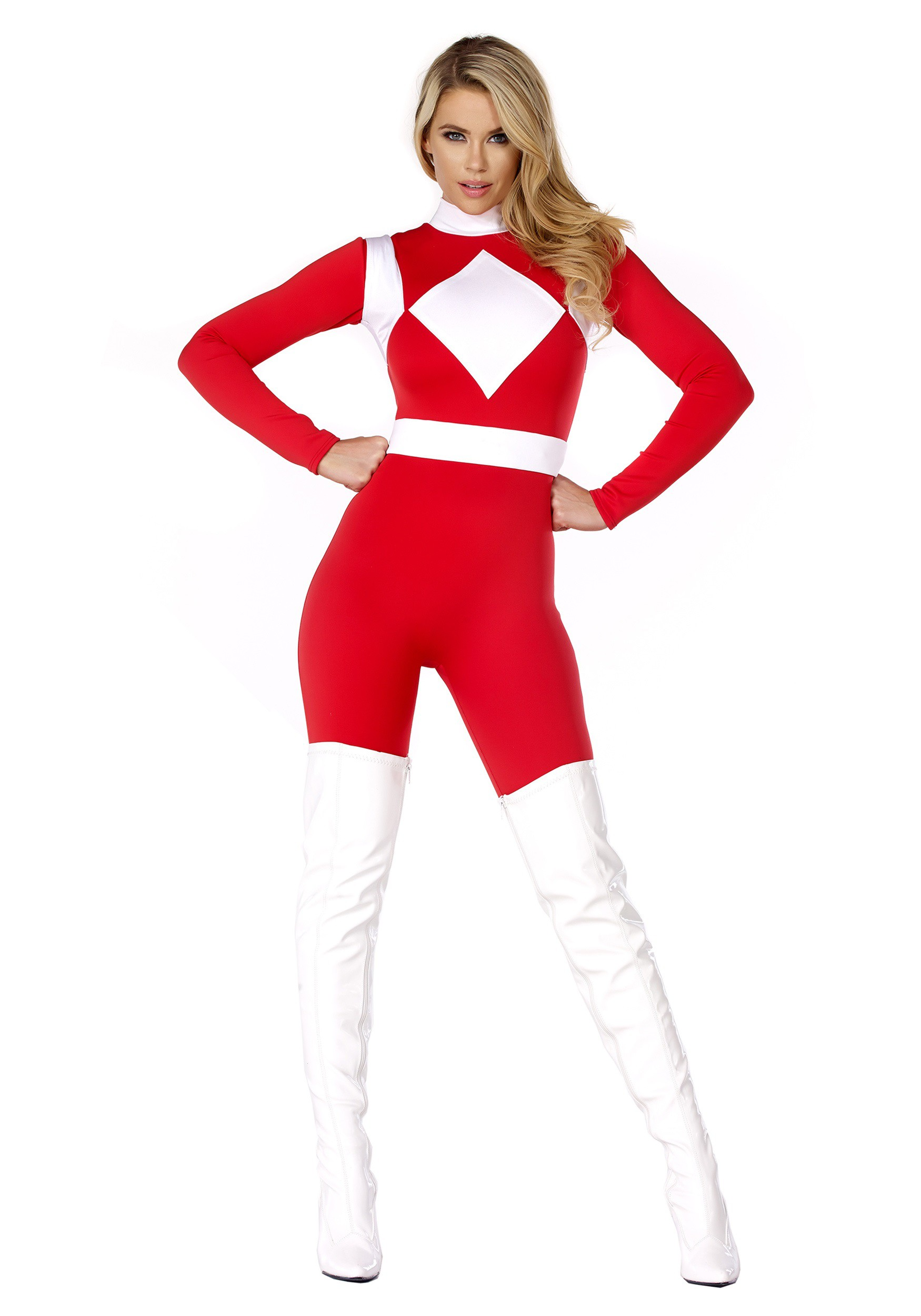 Dominance Action Figure Red Women S Costume