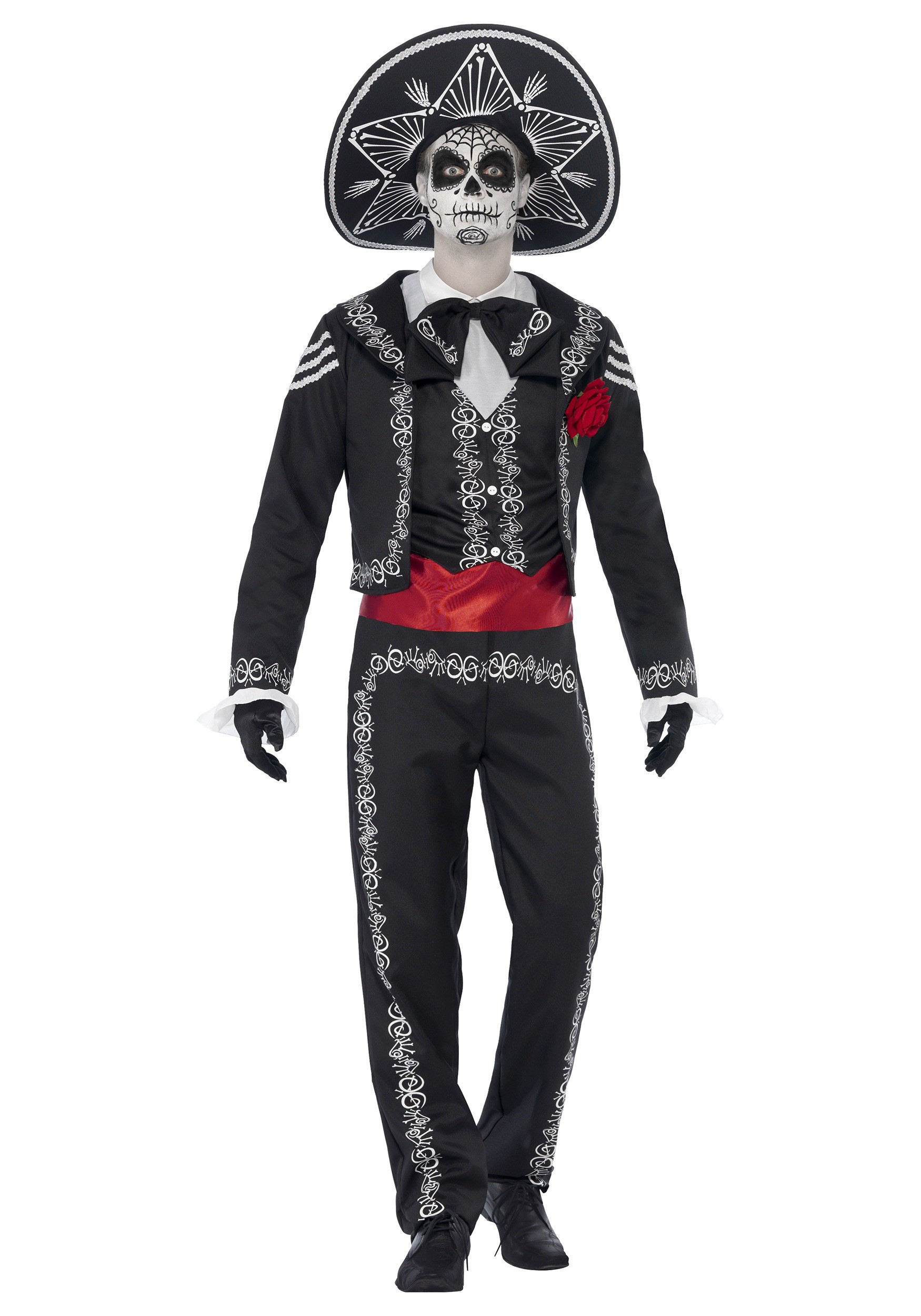 sc 1 st  Halloween Costumes & Day of the Dead Senor Bones Costume