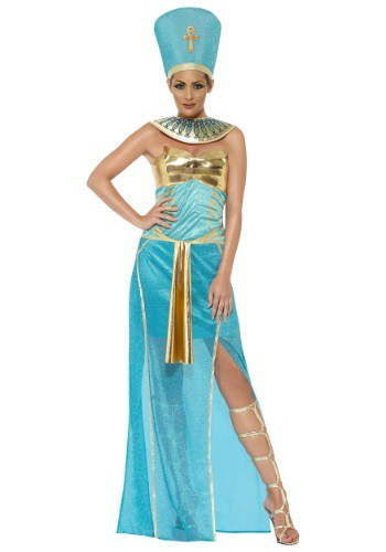 Womens Goddess Nefertiti Costume