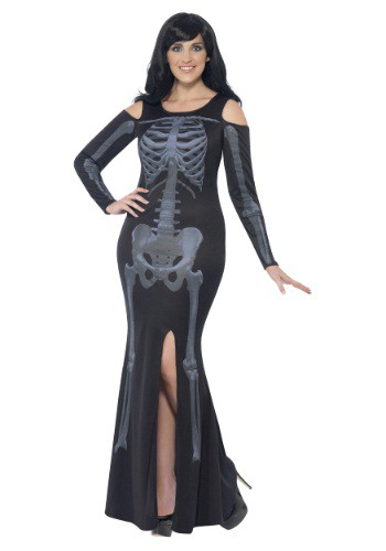 Women's Curves Skeleton Dress