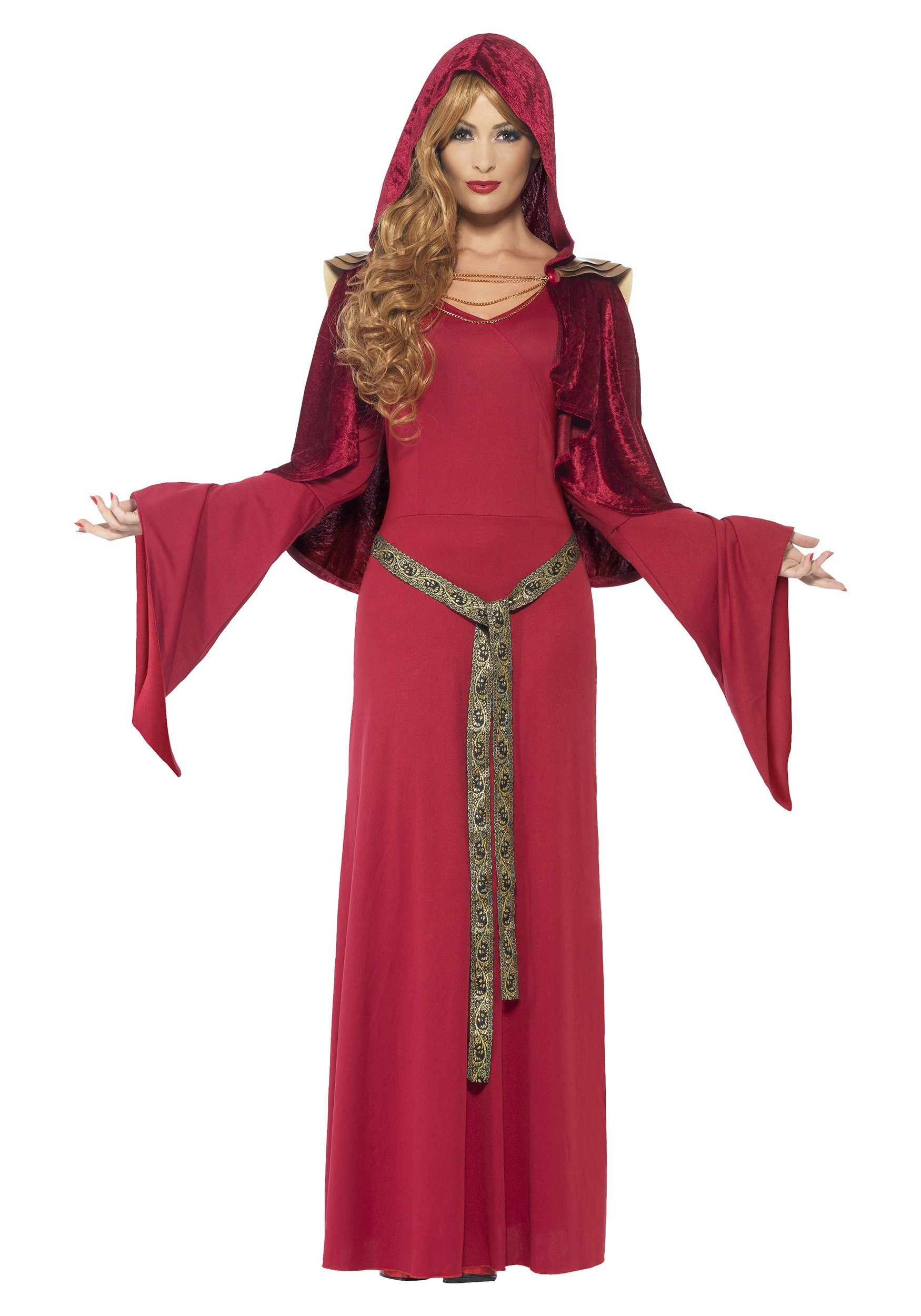 Women 39 s red high priestess costume - Disfraces sencillos para carnaval ...