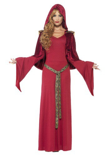 Women's Red High Priestess Costume By: Smiffys for the 2015 Costume season.