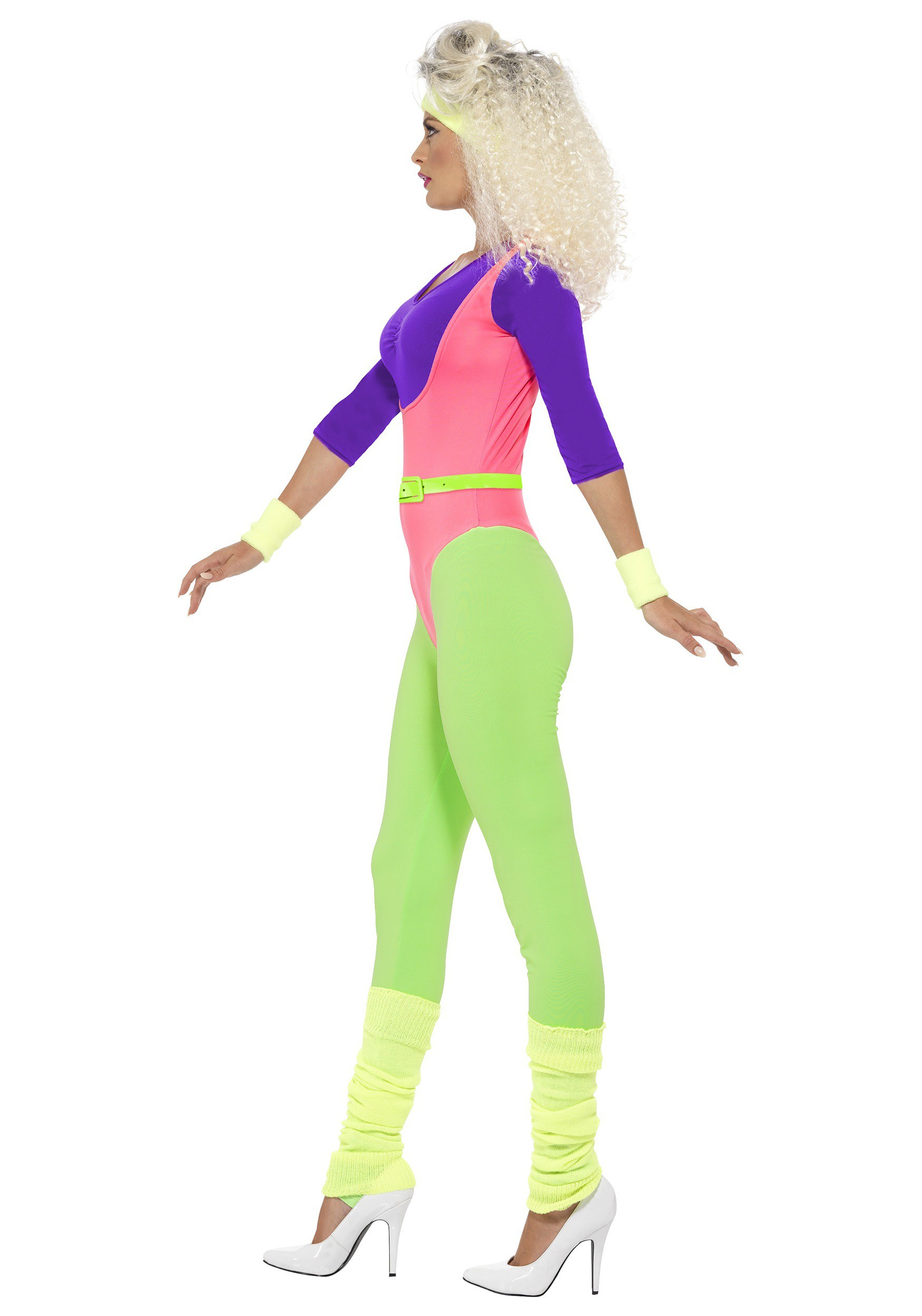 Women's 80s Workout Costume