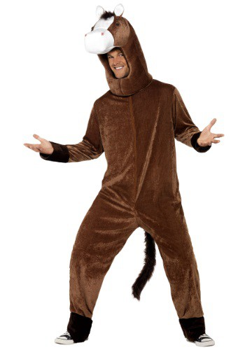 Adult Horse Jumpsuit Costume By: Smiffys for the 2015 Costume season.