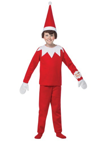 Click Here to buy Kids Elf on the Shelf Costume from HalloweenCostumes, CDN Funds