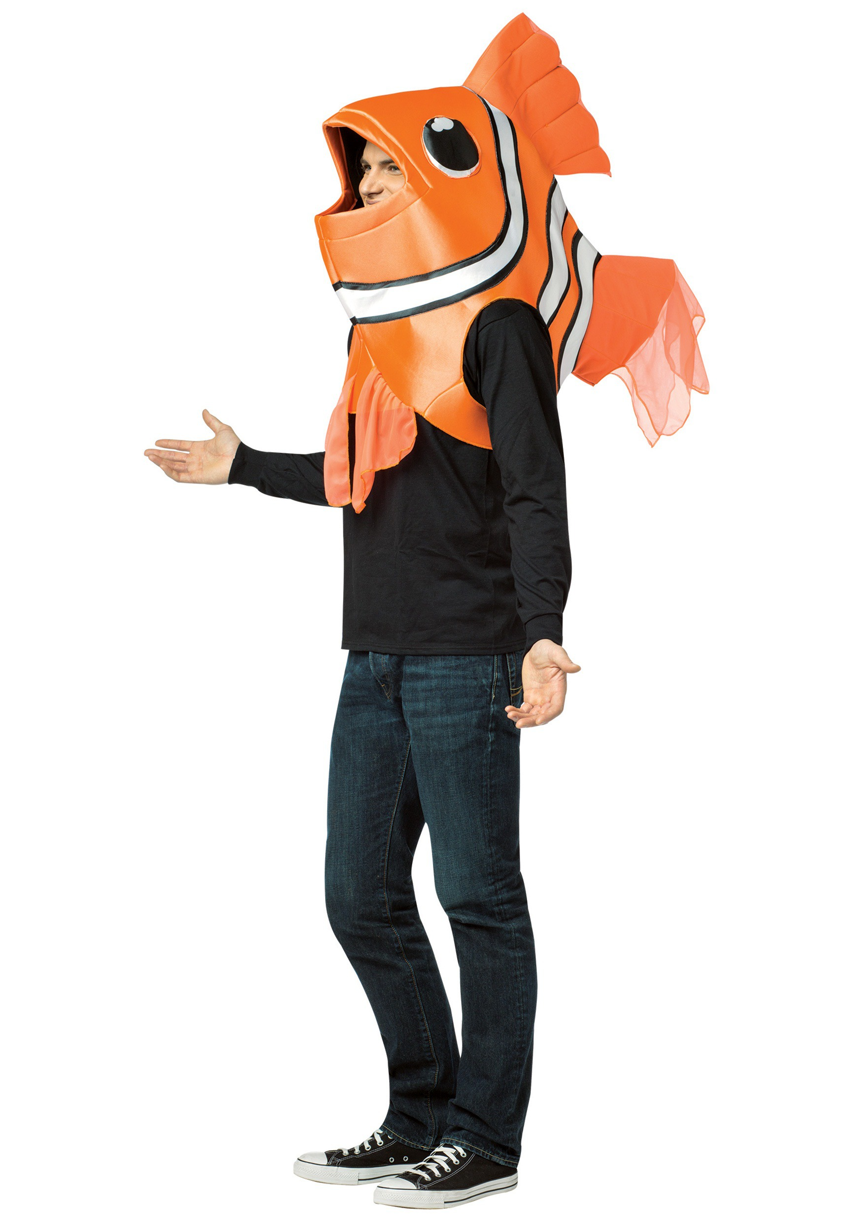 Adult clown fish costume for Sexy fish costume