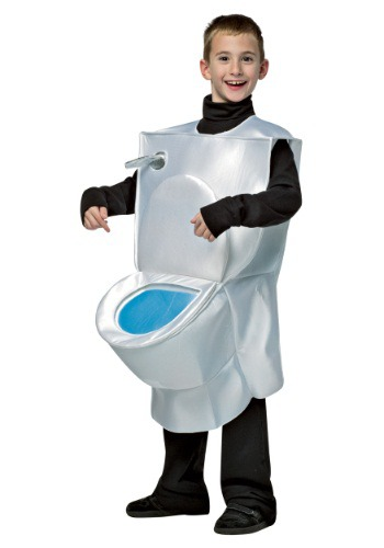 Kids Toilet Costume By: Rasta Imposta for the 2015 Costume season.