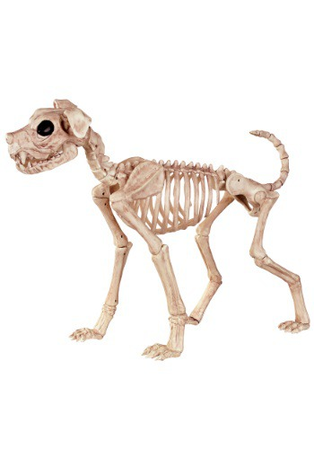 "Buster Bonez 28"" Skeleton Dog"