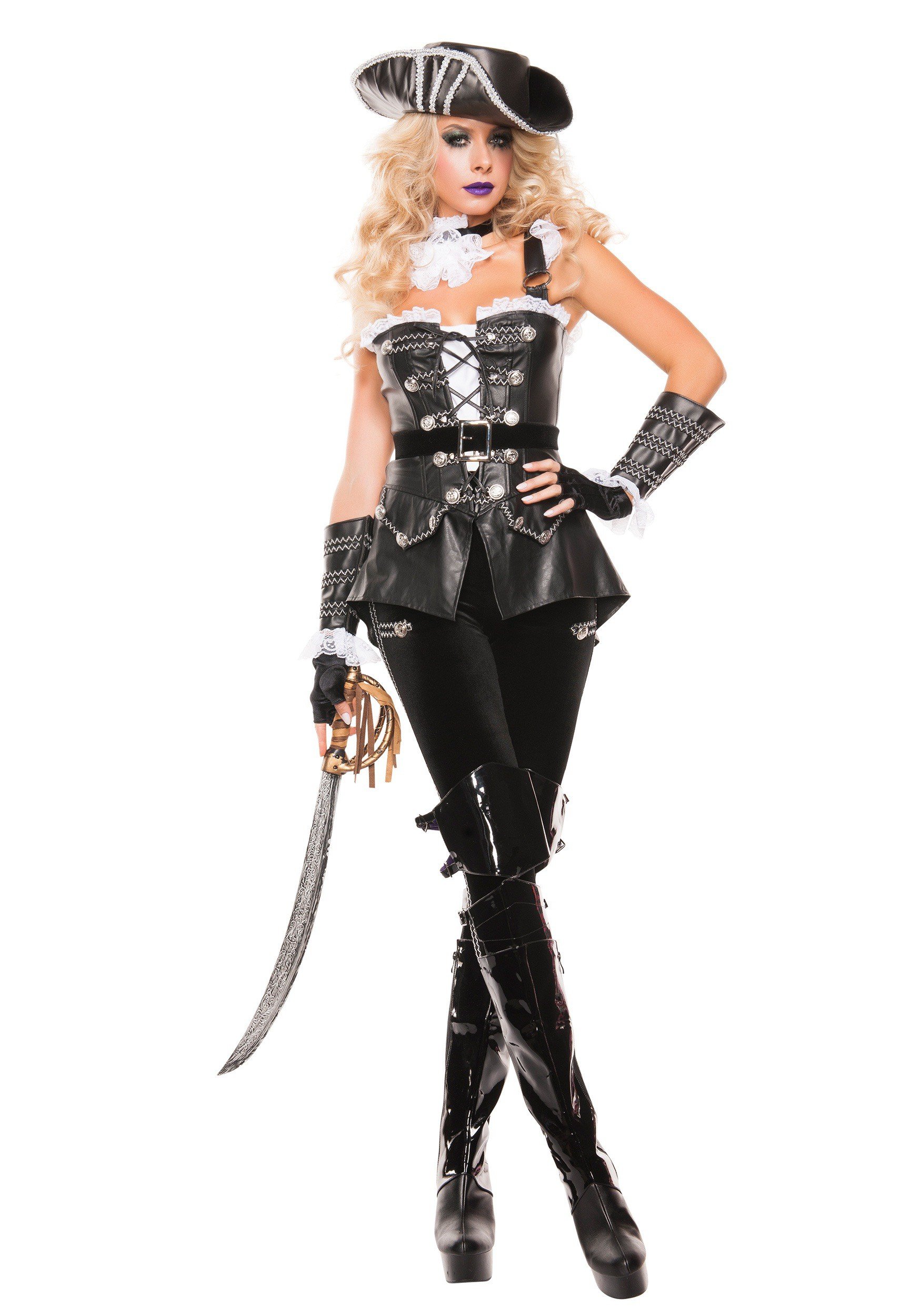 Sexy pirate girl costume
