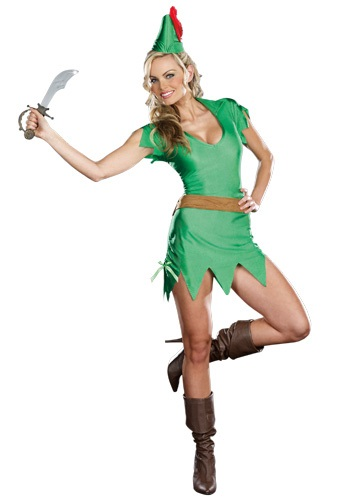 Click Here to buy Sassy Peter Pan Costume from HalloweenCostumes, USA Funds & Shipping