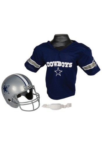 Child NFL Dallas Cowboys Helmet and Jersey Set