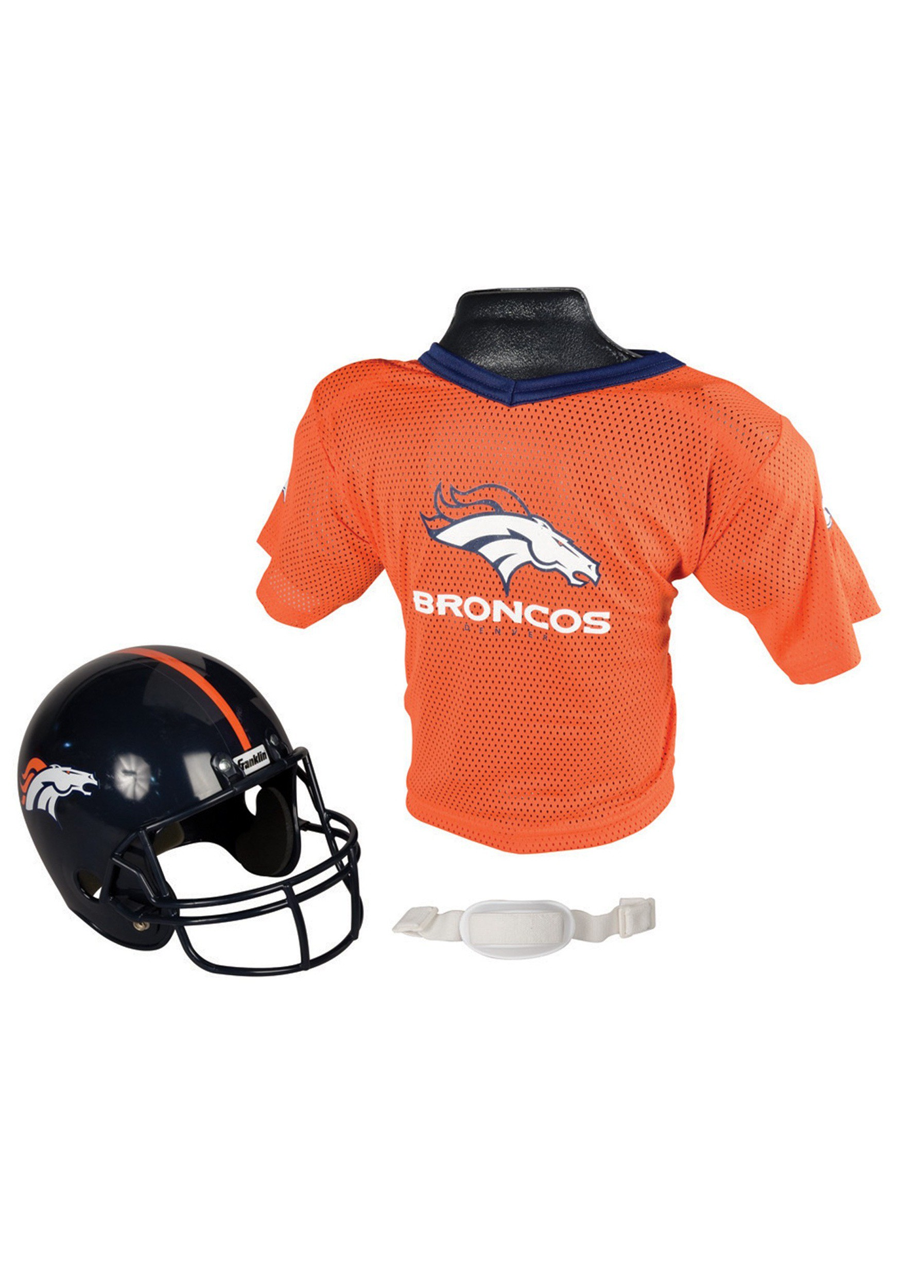 9b7df431f Child NFL Denver Broncos Helmet and Jersey Costume Set