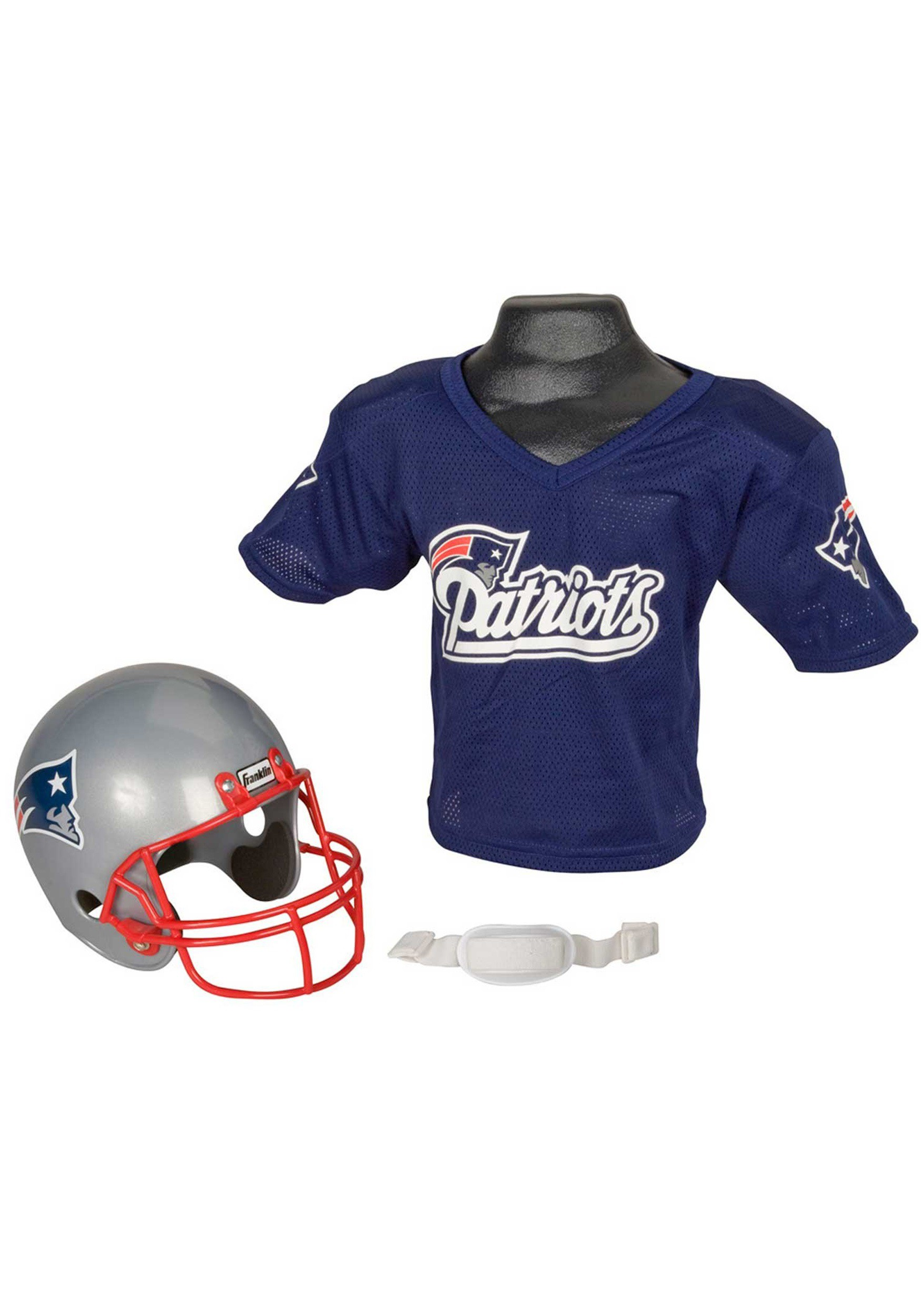 11d5179d8 Child NFL New England Patriots Helmet and Jersey Costume Set