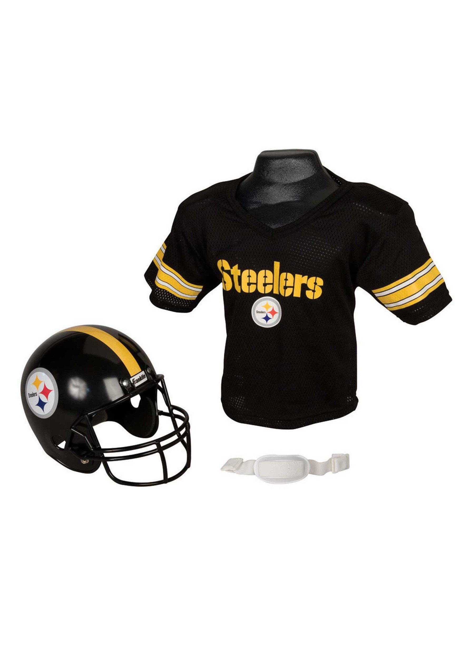 sports shoes a9127 92b3c Child NFL Pittsburgh Steelers Helmet and Jersey Costume Set