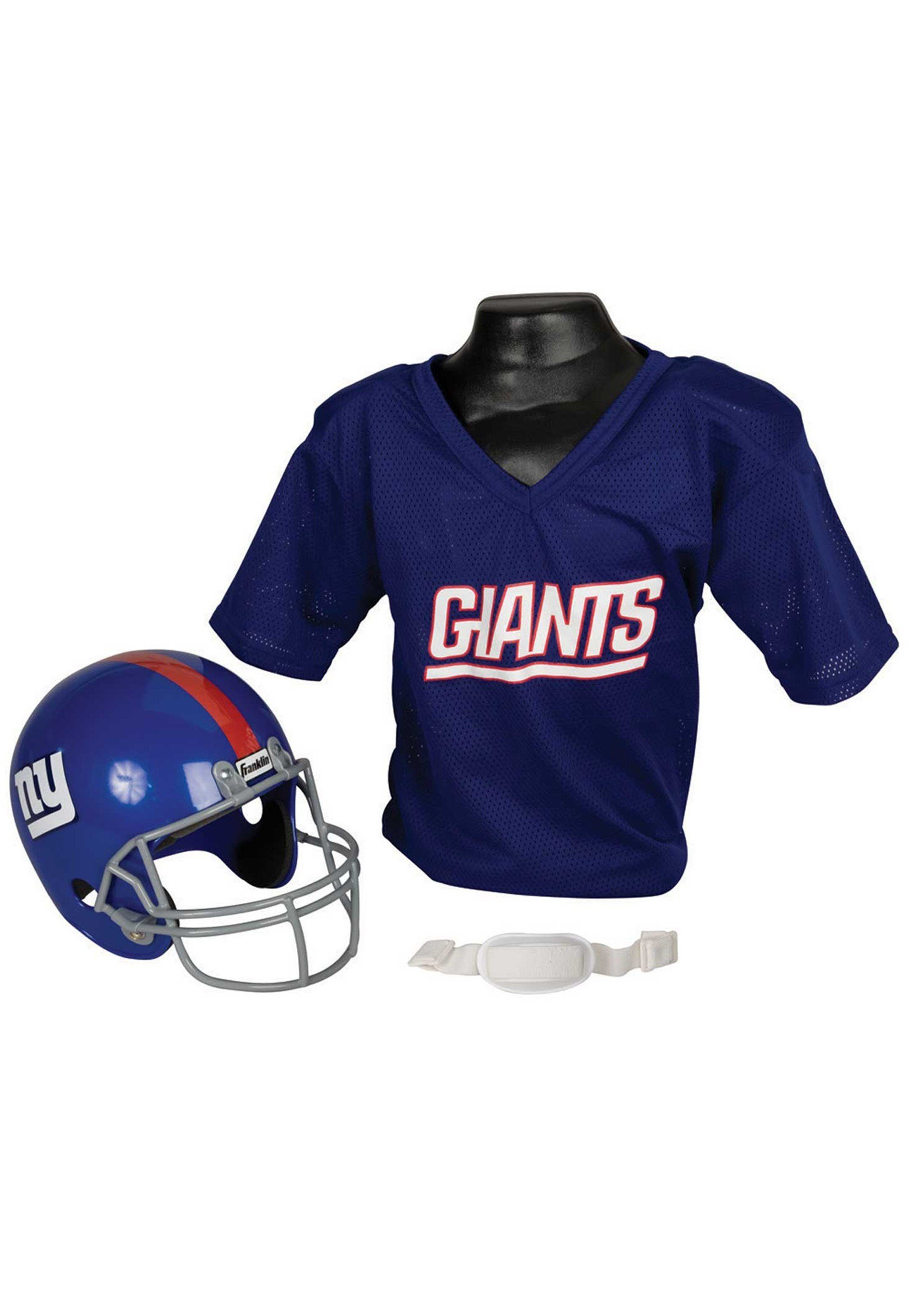 ec9511b0 Child NFL New York Giants Helmet and Jersey Costume Set