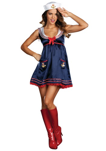 Sexy Blue Sailor Girl Costume By: Dreamgirl for the 2015 Costume season.