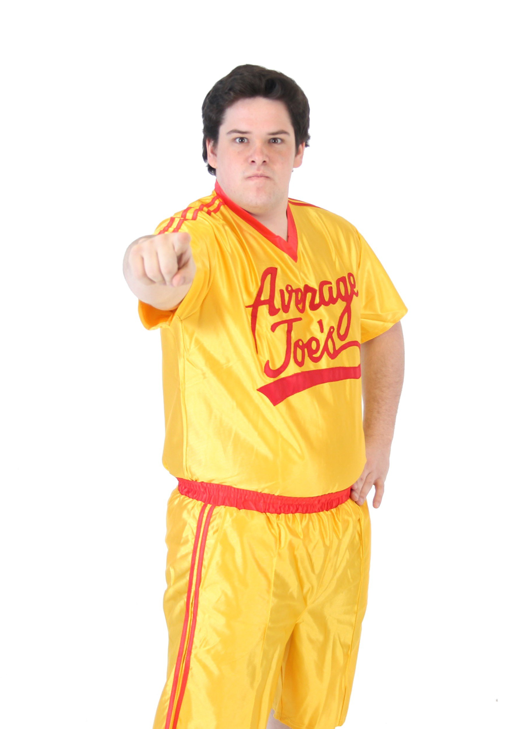 Plus Size Dodgeball Jersey Costume 2X 3X-1465