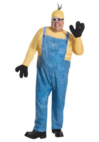 Click Here to buy Plus Size Minion Kevin Costume from HalloweenCostumes, CDN Funds