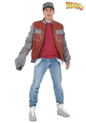Plus Size Back to The Future II Marty McFly Jacket By: Seasons (HK) Ltd. for the 2015 Costume season.