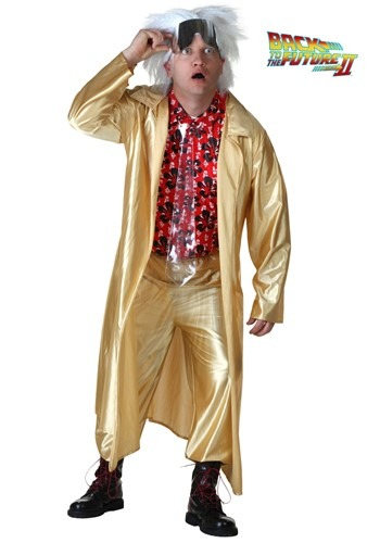 Plus Size Back to the Future II Doc Brown Costume By: Seasons (HK) Ltd. for the 2015 Costume season.