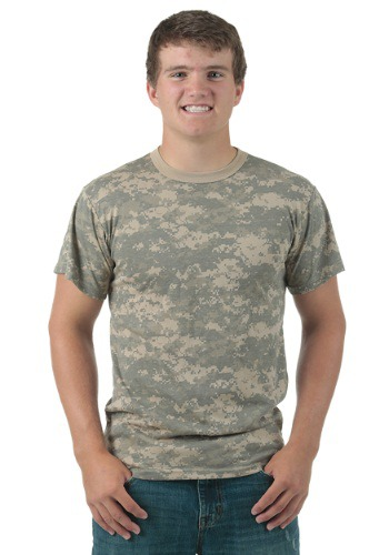 Image of Adult Vintage ACU Digital Camo T-Shirt